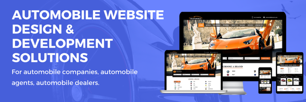 AutoMobile Website Development Company USA | Dubai